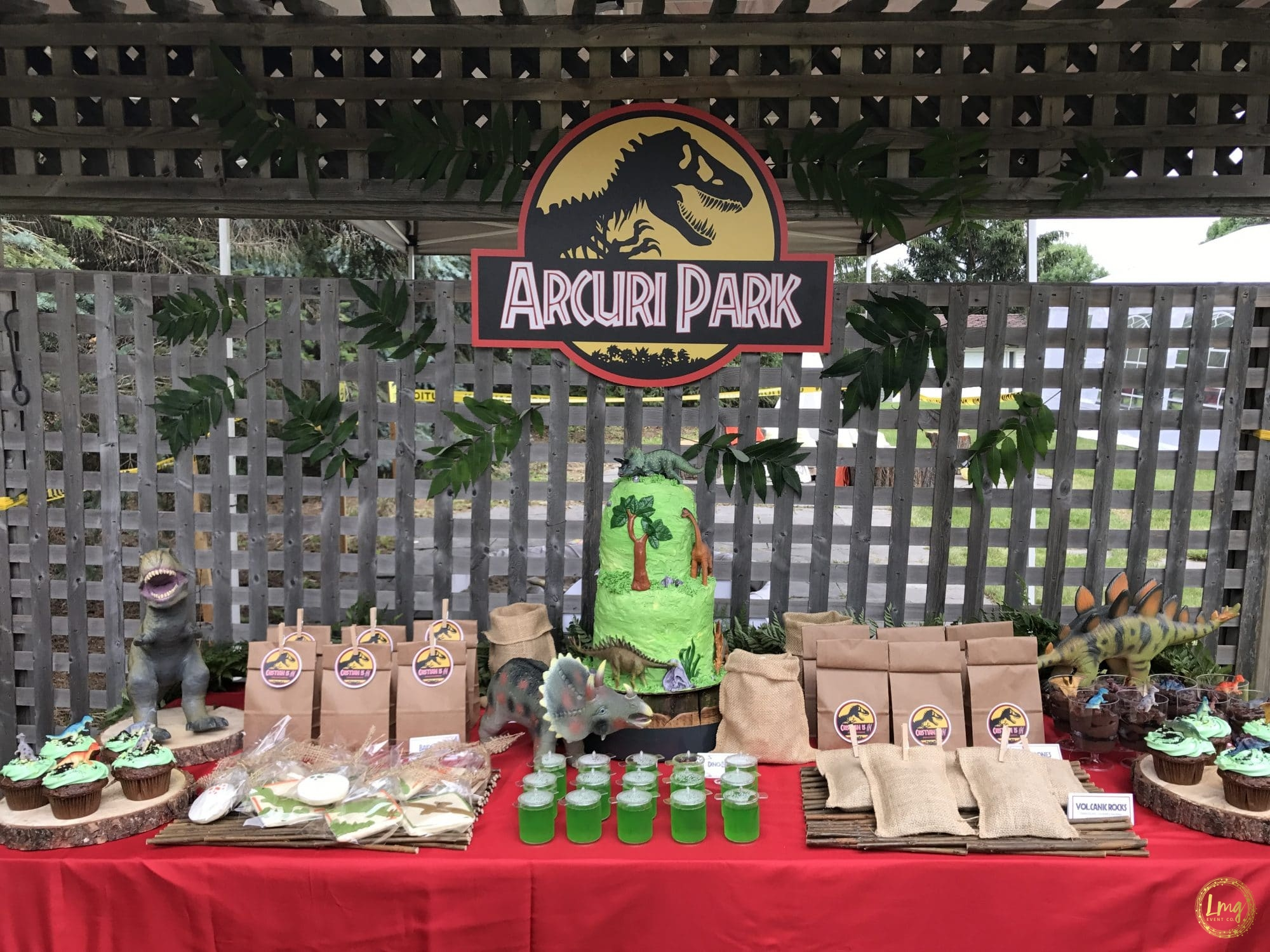 Lmg Event Co The Jurassic Life A Dinosaur Party Theme