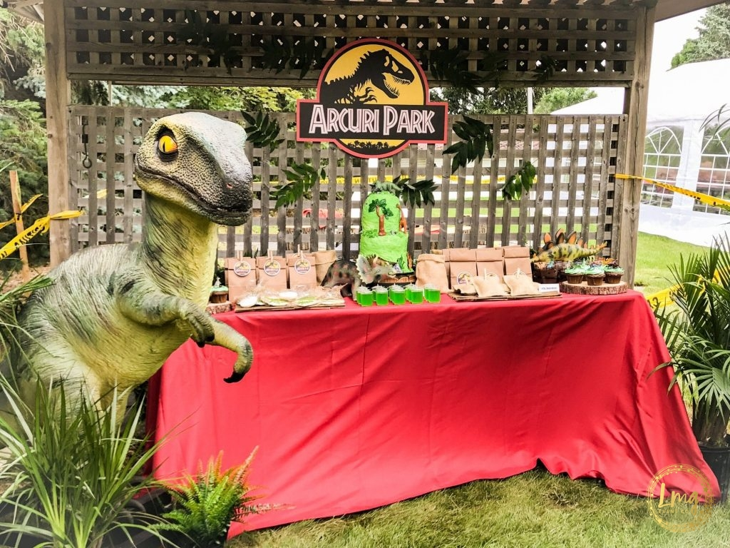 The Jurassic Life \\ A Dinosaur Party Theme